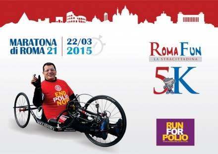 RomaFun, la corsa solidale di Tonino Boccadamo