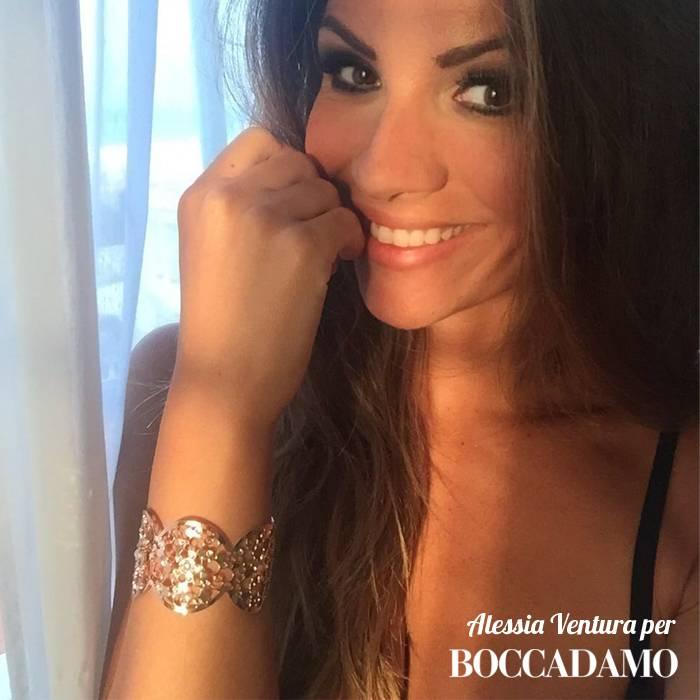 Alessia Ventura per Boccadamo