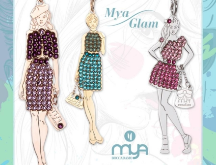 Mya Glam, un abito di Swarovski