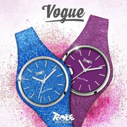 L'orologio è pop con i nuovi Vogue della linea TooBe!