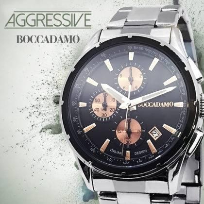 Tieni il tempo con Aggressive, i nuovi orologi Boccadamo!