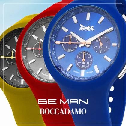 Colora il tuo polso con BeMan, i nuovi orologi Boccadamo!