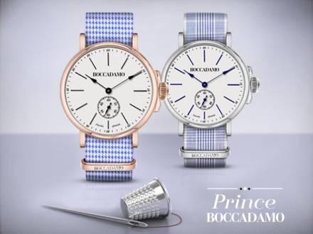 Prince, l'orologio che valorizza l'handmade Boccadamo