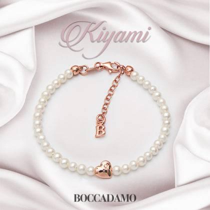 Kiyami: un'esplosione di purezza sui nuovi gioielli Boccadamo