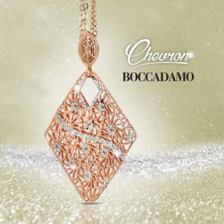 Chevron: l'eleganza delle forme nei nuovi gioielli Boccadamo