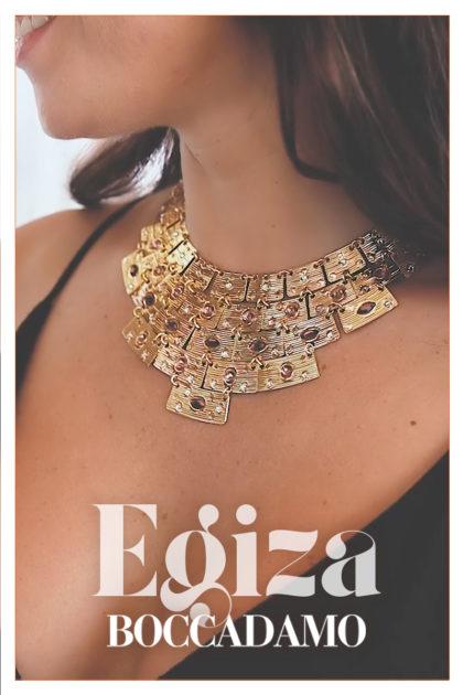 Egiza: eleganza preziosa, direttamente dall'Antico Egitto