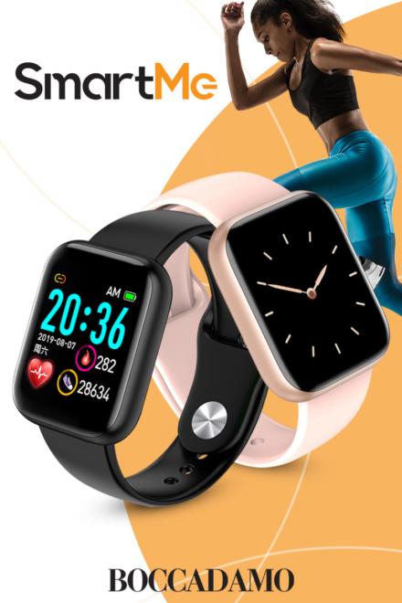 Stile e tecnologia per la novità assoluta Boccadamo Time: gli smartwatch