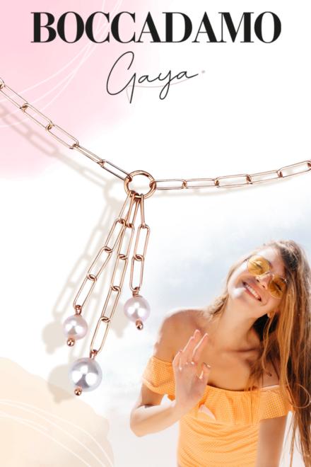 Gaya: catene e colori scintillanti per vere fashion lovers