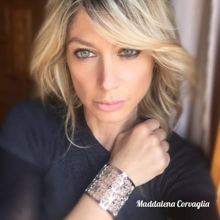 Maddalena Corvaglia, romantic mood con Boccadamo
