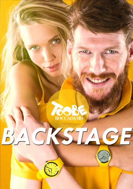 """Backstage orologi """"TooBe"""", dietro le quinte della campagna adv"""