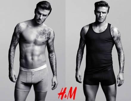 David Beckham si mette a nudo
