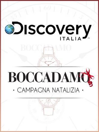 """Su Discovery Italia lo spot natalizio dedicato a """"Boccadamo Time"""""""