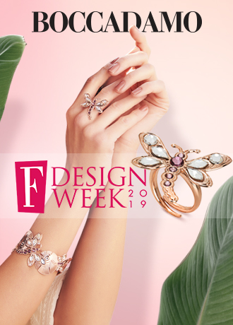 F Design Week, il rosa della moda con Boccadamo