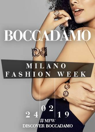 Boccadamo in passerella alla Milano Fashion Week