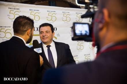 Party Boccadamo, serata esclusiva per i 56 anni di Tonino Boccadamo e l'anteprima della linea di orologi