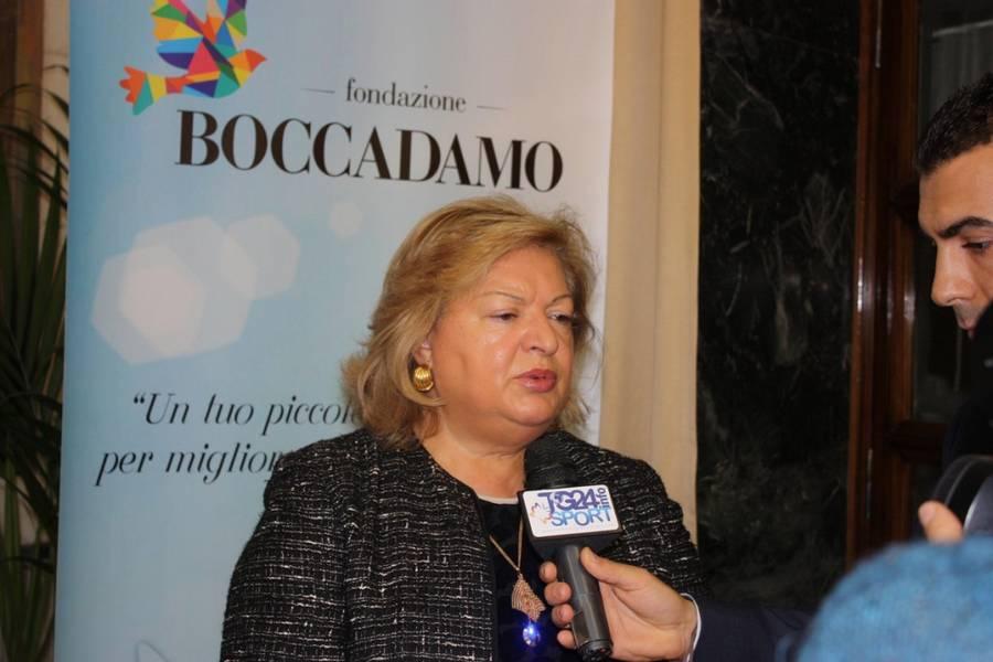 Il Prefetto di Frosinone, Sua Eccellenza Emilia Zarrilli, spiega l'impegno della Prefettura nell'iniziativa (bis)