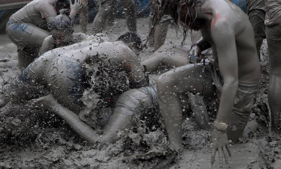 Mud Festival Corea del Sud_Fonte Getty Images