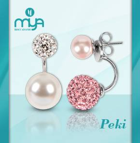 Peki, le perle Swarovski di Mya