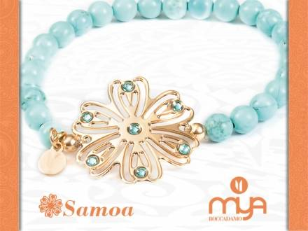 Samoa, un delicato fiore stellato