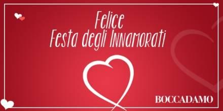 Felice Festa degli Innamorati