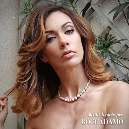 Melita Toniolo, femme fatale con Boccadamo