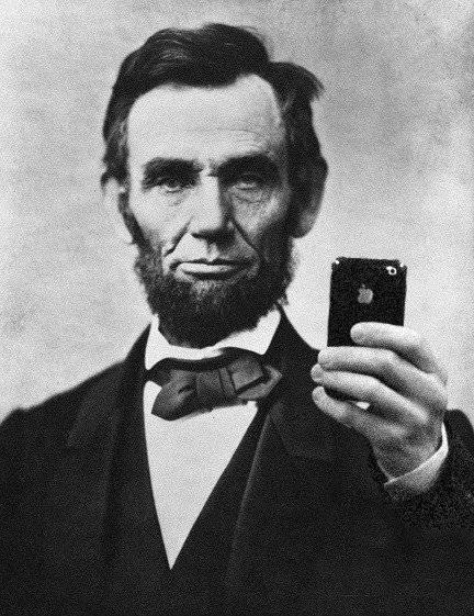 abraham-lincoln-selfie