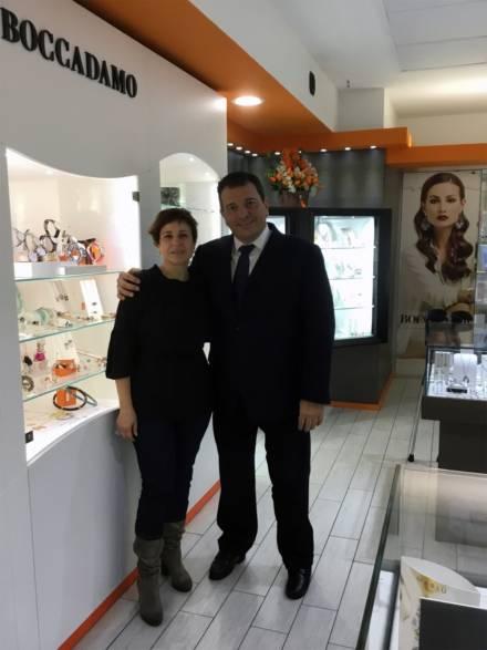 Blue Gioielli, concessionario Boccadamo premiato a Latina