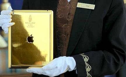 Un iPad…d'oro 24 carati!