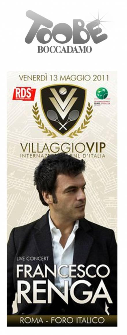 Al Foro Italico Tennis e buona musica con Francesco Renga