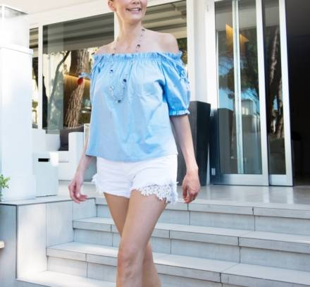 Shorts e Crisette, per un look informale e chic